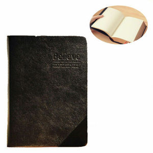 Image 5 - Retro Leder Notebook Dicken Papier Bibel Tagebuch Buch Notizbuch Neue Leere Wöchentlich Plan Schreiben Notebooks Büro Schule Liefert
