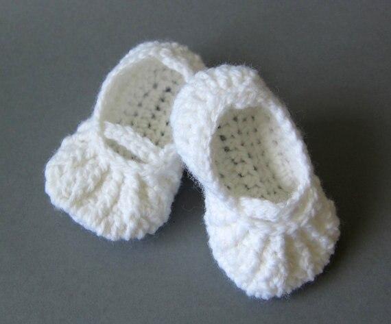 Crochet Baby Shoescrochet Baby Bootiesbaby Ballerina Slippersgirl