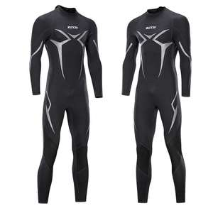 Diving-Suit Prevent One-Piece Winter Neoprene 3mm Jellyfish Long-Sleeve New Men