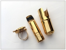 Metal mouthpiece Selmer Professional Tenor Gold Plated B Tenor Saxophone Sax Metal Nozzle Nozzle Size 5-9 mouthpiece Jazz Music