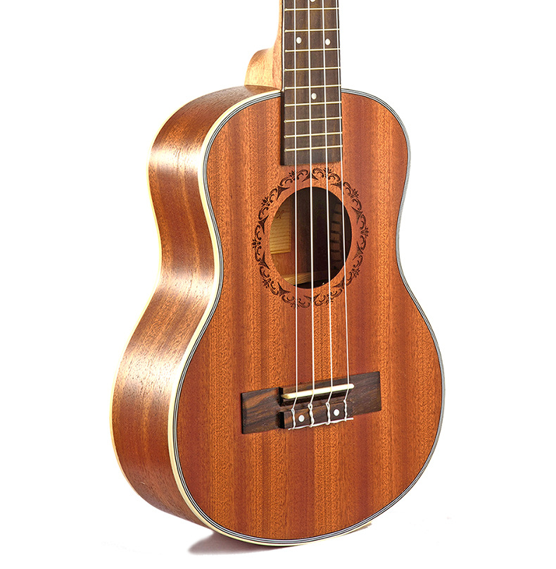 SevenAngel 23 Concert Ukulele 4 AQUILA Strings Hawaiian Mini Guitar Uku Acoustic Guitar Ukelele 12 Patterns
