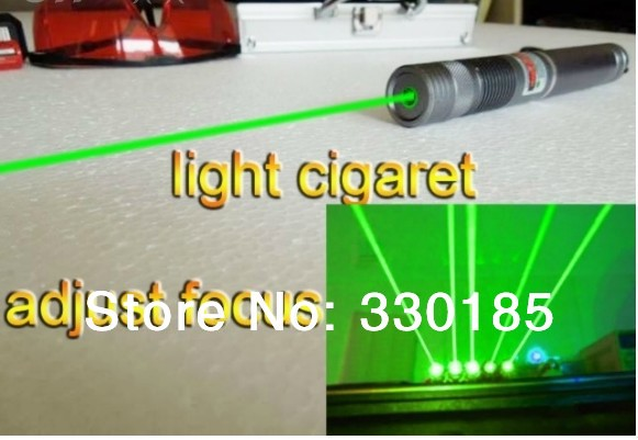 NEW Military 532nm 100w 100000mw Green Laser Pointer flashlight lazer Burning Beam Match Burn Cigarettes+5 caps+glasses+gift box strong power military green laser pointer 100000mw 532nm flashlight lazer burning match burn cigarettes 5 caps charger gift 100w