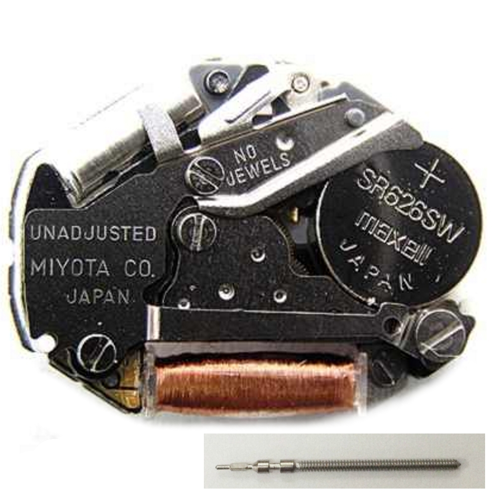NEW Japan Miyota 2035 Quartz Watch Movement Battery Included Replace Repair
