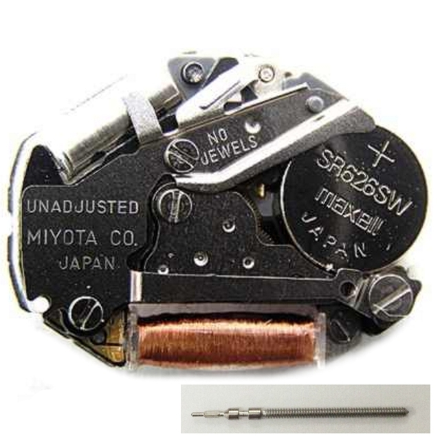 39ce69a096a80f NUOVO Giappone Miyota 2035 Movimento Orologio Al Quarzo Batteria Inclusa  Sostituire Riparazione