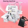 Многофункциональная швейная машина бытовая электрическая настольная швейная машина металлический корпус оверкрафт машина с английским р...