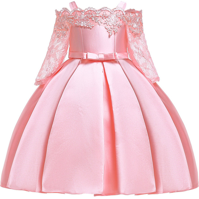 בנות שמלת ילדים נסיכת שמלות בנות anniversaire enfant נסיכת שמלת תינוקת פעוט בגדי vestidos robe fille