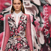 Stretch Jacquard Fabrics Spring And Autumn Fashion Dress Dress Dress Fabric Wholesale High Quality Cloth