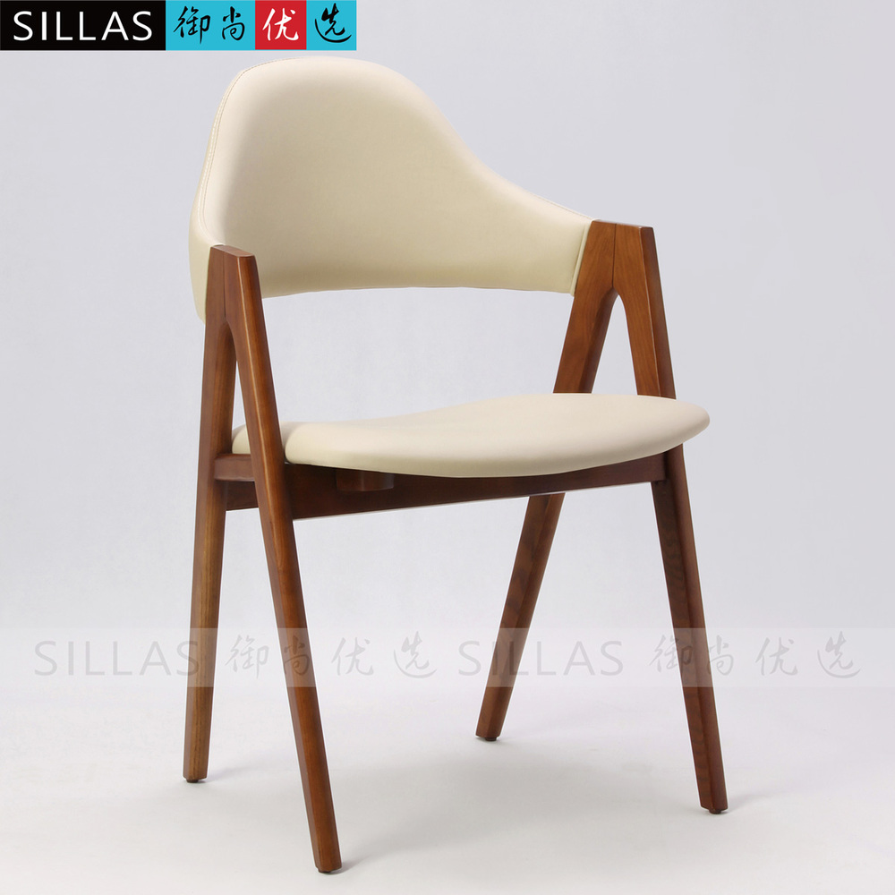 Ash wood chair dining chair fabric thailand stylish minimalist modern cafe bar restaurant chairs in shampoo chairs from furniture on aliexpress com