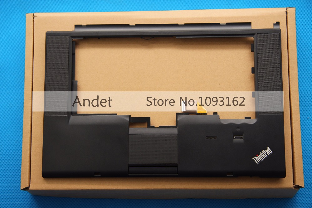 New Original for Lenovo ThinkPad T520 T520i W520 Palmrest Cover With FPR CS 04W1368 04W0606 new original keyboard bezel palmrest cover for lenovo thinkpad t440s uma with nfc with touchpad fingerprint reader 04x3880