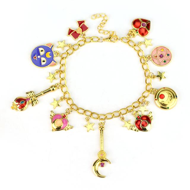 Sailor Moon Charm Bracelet
