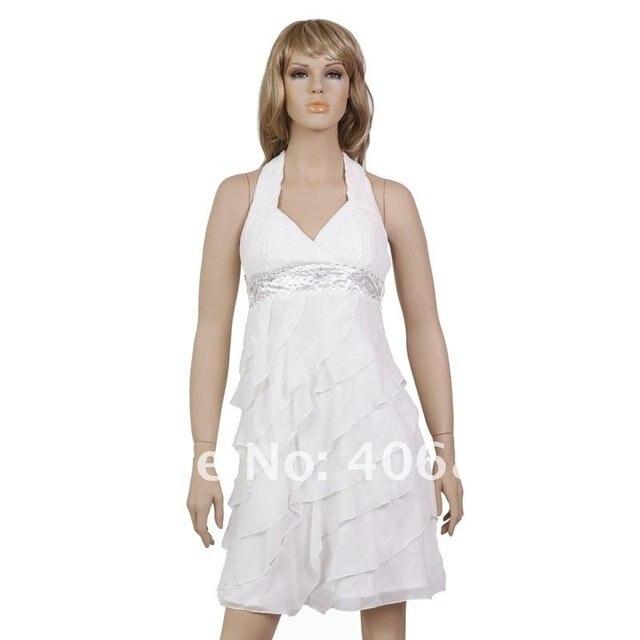 Free shipping cocktail off shoulder white dress, shop short dresses ...