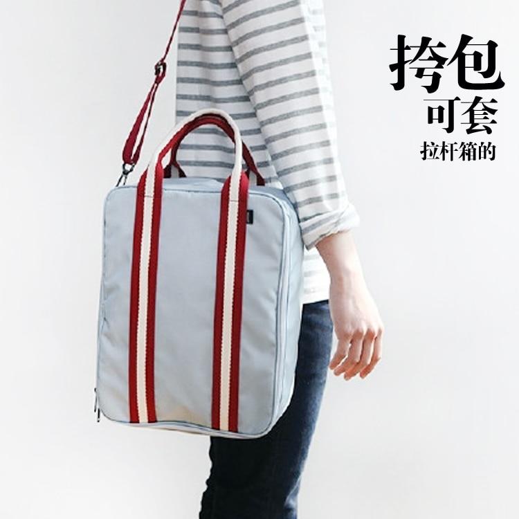 Кореялық стиль Су өткізбейтін сән - Багаж және саяхат сөмкелері - фото 4
