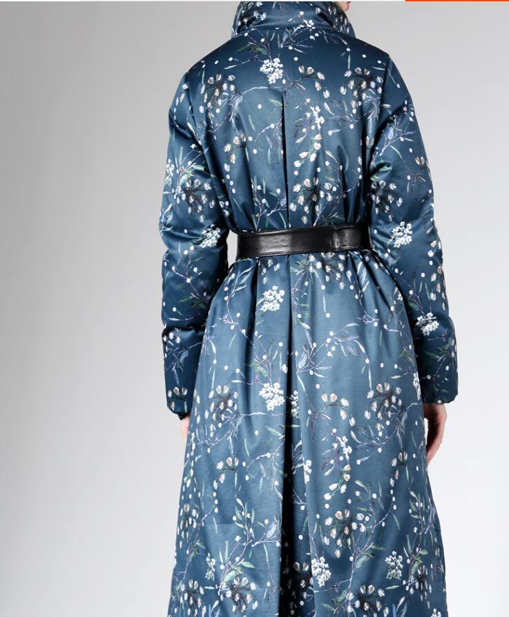 Bas Haute Le Femme 2019 À Velours Vers Coton Épais Haut Coton Vêtements rembourré D'hiver Chaud Capuchon Blue fin Doudoune Conception Costume doudoune BPqrBFw7