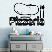 NEW Pizzeria Vinyl Self Adhesive Wallpaper Wallstickers For Kitchen Wall Decorations Living Room Sticker House Decor