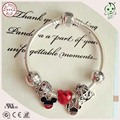 Top Quality Famous Brand Jewelry Gift Cute Carton Mini Mouse Series 925 Sterling Silver Bracelet
