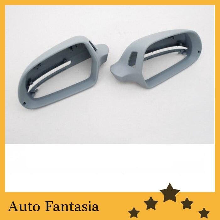 Помощи для заднего вида зеркало крышки для Audi А4 В8