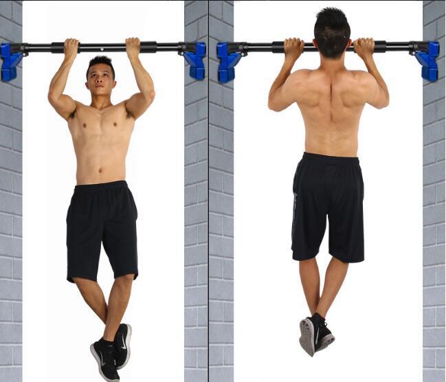 Barre horizontale réglable de porte polyvalente de 70 90 cm barre professionnelle de forme physique avec la serrure antidérapante - 3