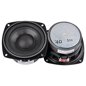 Image 2 - AIYIMA 2Pcs 4 inch 50W Subwoofer Audio Speaker Portable Mini Stereo 4 Ohm 8Ohm Speakers Woofer Full Range Car Horn Loudspeaker