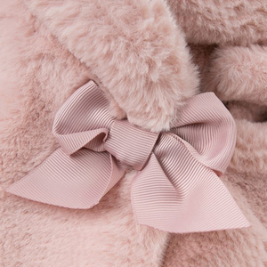 Image 5 - Baby Girls Winter Coat Kids Clothes Rabbit Fur Coat For Girls Jackets Baby Clothes Warm Parka Clothing For Girls Costume 1 6T