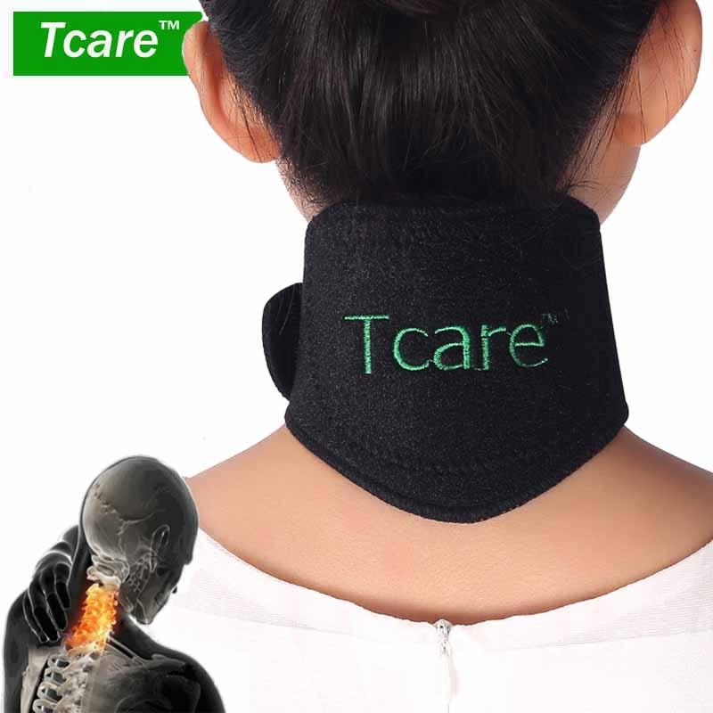 1 Pcs Tourmaline Self-heating Neck Brace Pad Magnetic Therapy Tourmaline Belt Support Spontaneous Heating Neck Braces
