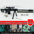 Escala 1:1 M82A1 Barrett 12.7mm Rifle Sniper 3D Papel Mate modelo Kits Cosplay Criança Modelos De Papel Arma Brinquedos Arma Armas Dos Adultos