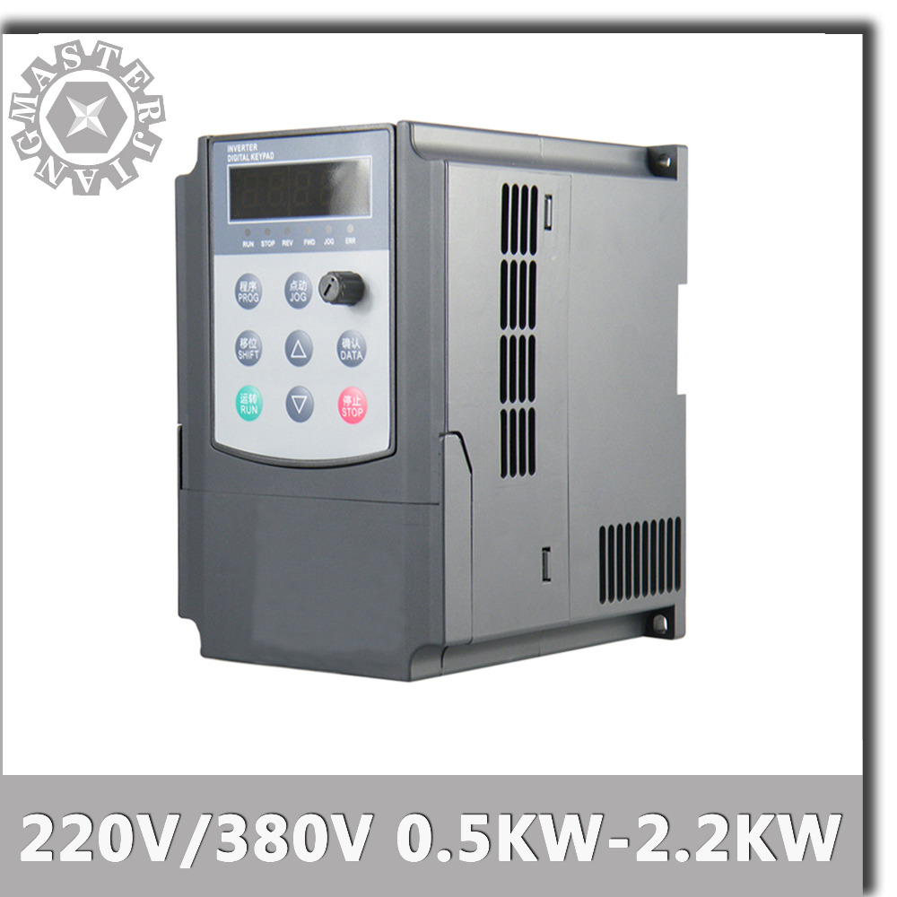【In DE】2.2KW 380V HY VFD VSD Spindle Inverter Frequency Drive for 2.2kw spindle