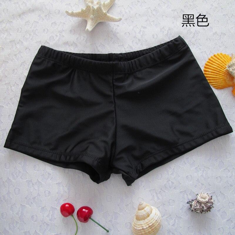 fe684df2e Duas-peças Separa natação masculina boxer shorts roupa Pattern   Pure Color