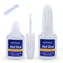 10g cola de unhas falso acrílico strass beleza gemas maquiagem gel uv para decoração de unhas