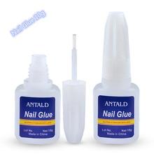 10g colle à ongles faux faux acrylique strass beauté gemmes maquillage UV Gel pour la décoration des ongles