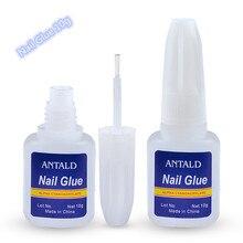 10g pegamento de uñas falso acrílico Diamante de imitación belleza gemas maquillaje UV Gel para decoración de uñas