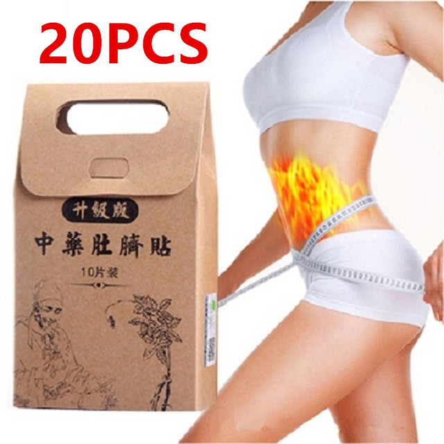 10pcs/set slimming navel sticker slim patch lose weight loss.