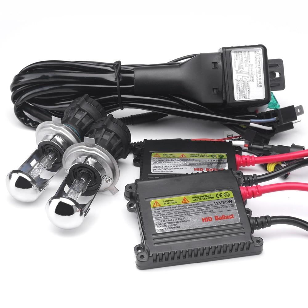 1set 12V HID H4 bi-xenon kit 4300K 6000K 35W 5000K 8000K 10000K - Φώτα αυτοκινήτων - Φωτογραφία 2