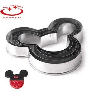 Image 1 - Moule à gâteaux Mickey 5 pièces/ensemble