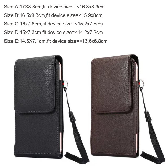 Verticial Rotary Man Belt Clip Strap Leather Mobile Phone Case For Huawei P smart,Honor 9 Lite,For Lenovo K320t,Oukite K6 iphone xs 財布