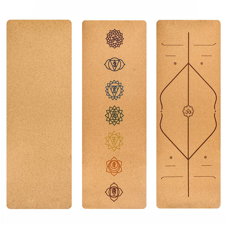 Detail Feedback Questions About Cork Natural Rubber Yoga Mat Eco