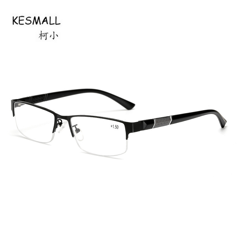 KESMALL New Brand Designer Reading Glasses Men Fashion Retro Light Reader Glasses Old Pe ...