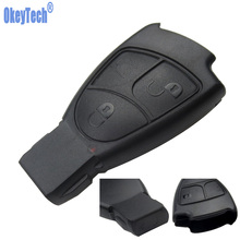 OkeyTech  For Mercedes Benz C E ML S SL SLK CLK AMG Soft 3 Buttons Car Smart Key Case Cover Replacement Free Shipping FOB