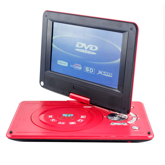 portable EVD 9.8 inch high-definition mobile DVD with TV to undertake foreign trade order strength factory