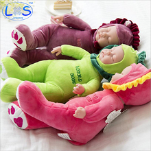 25cm Plush Stuffed Baby born Doll Simulated Babies Sleeping Dolls Children Toys Birthday Gift For Babies 18 Colors doll reborn