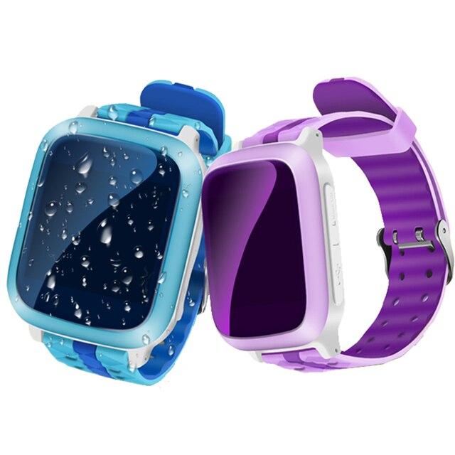 Дети Smart Watch Ребенок Gps-часы Телефон DS18 Сим-Карты WiFi Локатор Трекер Анти-Потерянный Наручные Часы Для iOS Android Дети ПК GT08