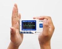 Healforce pc 80b ЭКГ, ручной легкий ЭКГ Мониторы, Портативный здоровья Мониторы, измерение одного канала ЭКГ, CE утвержден