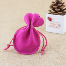 300Pcs 7x9cm Gourd Spherical Velvet Drawstring Pouch Jewellery Bag,Weekend New 12 months Birthday Christmas Wedding ceremony Get together Reward Pouch Bag