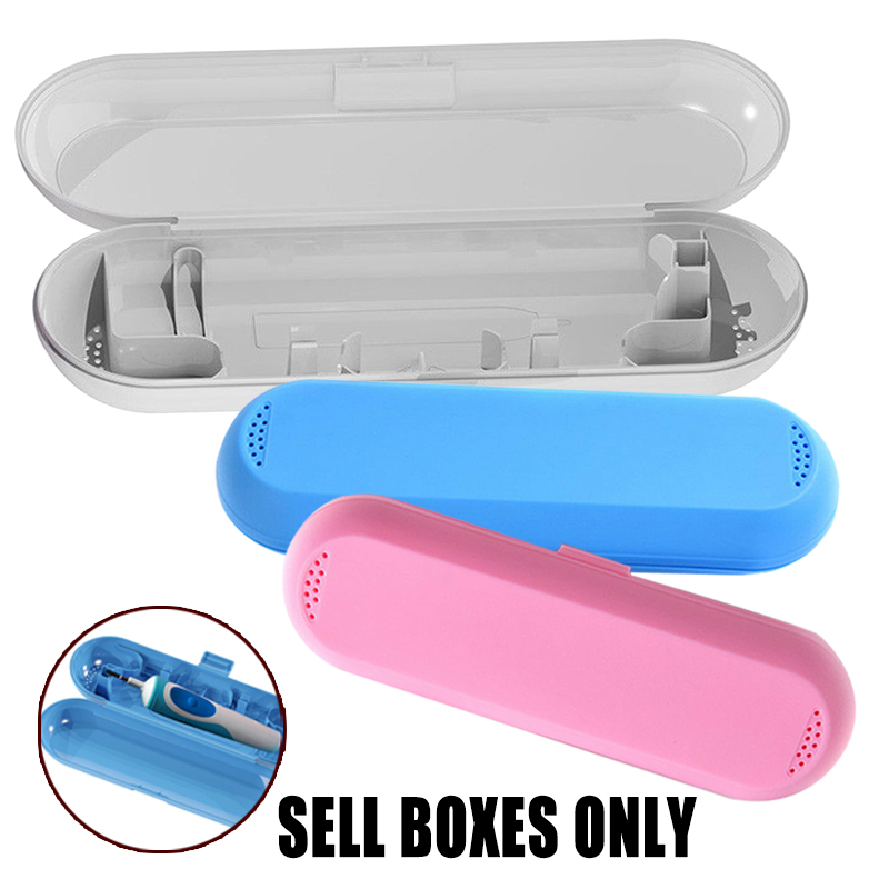 Outdoor Portable Toothbrush Holder Travel Storage Case Box for Oral B Toothbrushes Accessories image