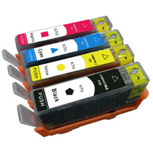 Einkshop For HP 670 ink cartridge for hp deskjet 6525 5525 3525 4615 4625 printer ink for hp670 670xl