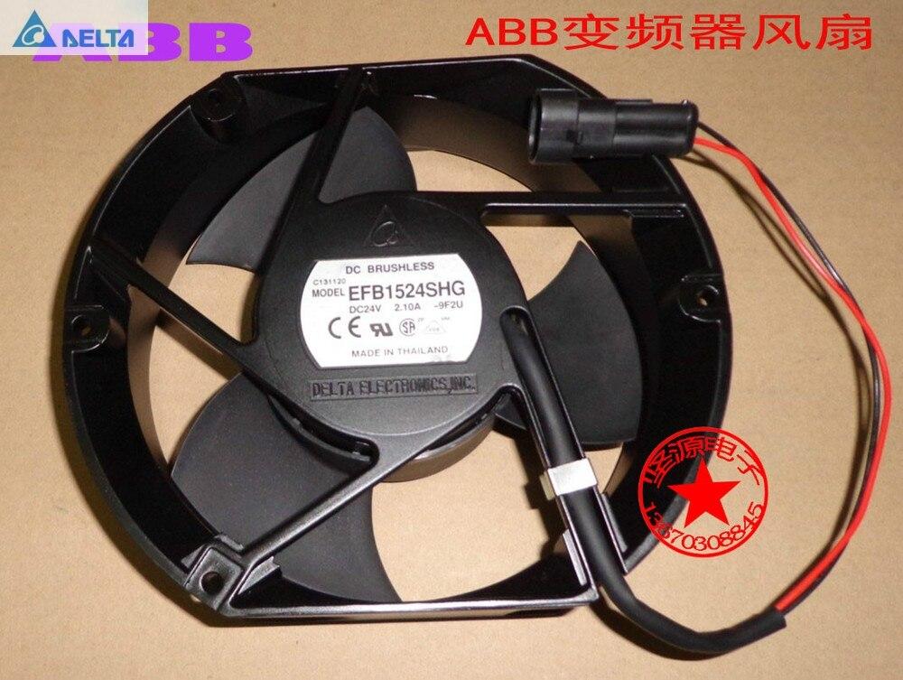 Дельта Вентилятор EFB1524SHG 15050 17 см 170 мм для 125A ДЛЯ ABB ACS510/550