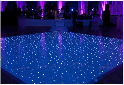 16 16 Led Dance Floor For Wedding Party Bar Events White