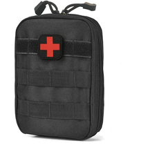 Мини-дорожная аптечка сумка 1000D нейлон Тактические Молл выжить Портативный выживания тактический скорой медицинской мешок первой помощи