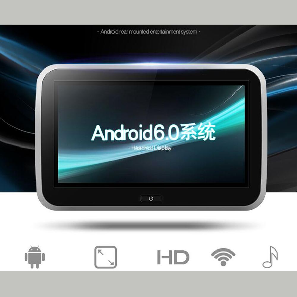 Best DVD Player for Car Headrest 4K Movie Video Play Industry leader Latest Android 6 0 Rear Seat DVD Player for SUZUKI in Car Monitors from Automobiles Motorcycles