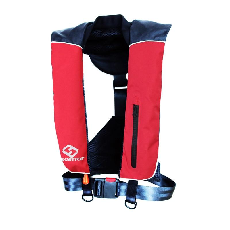 FLOATTOP Adult Manual Inflatable Life Jacket Life Vests 33 Gram ...