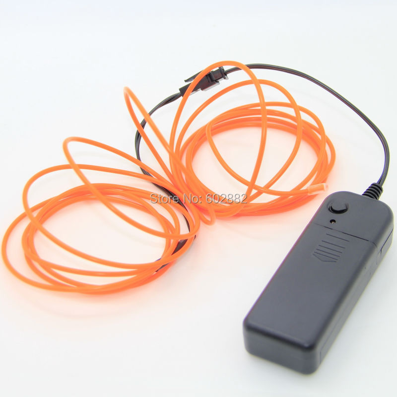 3M 1.5mm el wire + + 3v AA Battery Inverter + Mix Order disponibile